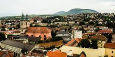 Egri panoráma / View at Eger (Eger, Heves, Northern Hungary)