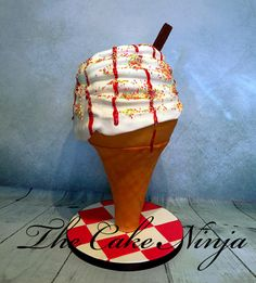 anti gravity ice cream - Cake by Tiddy