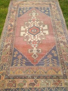 7 x Oriental Rug Oushak Rug Turkish Diy Carpet, Beige Carpet, Rugs On Carpet, Carpet Ideas, Carpets, Hallway Carpet Runners, Persian Carpet, How To Clean Carpet, Hand Knotted Rugs