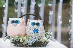 corujas para decor casamento