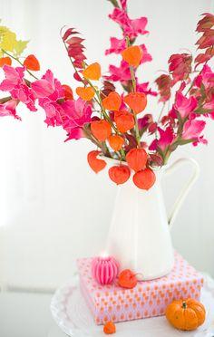 herbstblumenstrauss wunderschön-gemacht