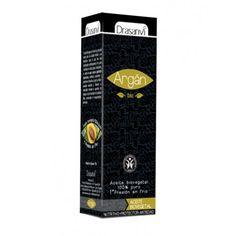 Aceite de Argán procedente de la agricultura ecológica. Se usa como antiedad y nutritivo-protector.