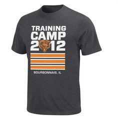 2012 Chicago Bears Training Camp Tee http   store.chicagobears.com  a17667465