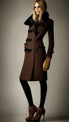Burberry Luggage Wool Coat