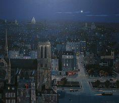 Michel Delacroix, La Nuit Bleue