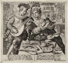 Terra [graphic] / Martin de Voss figurauit ; Crispin de Passe scalp. [sic] et excud. Folger