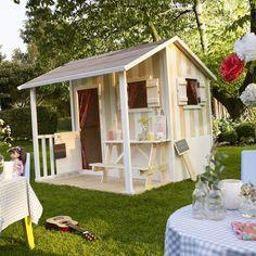 Cabane de jardin pour les enfants