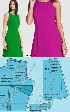 New photo by Gladys Cecilia Celestecielo Dress Sewing Patterns, Clothing Patterns, Pattern Draping, Sewing Tutorials, Couture, Lady, Clothes, Dresses, Design