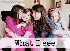 Do people stare at your family when you go out? Do you wish they could see what you see when you look into the faces of your children?