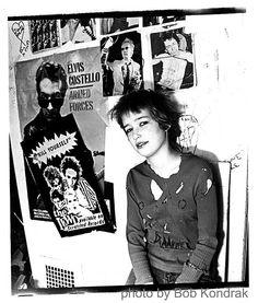 """""""Punk Kid"""" shot by Bob Kondrak in Seattle in 1978 or 1979"""