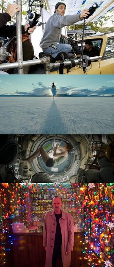 Emmanuel Lubezki, one of the best cinematographers put there right now.