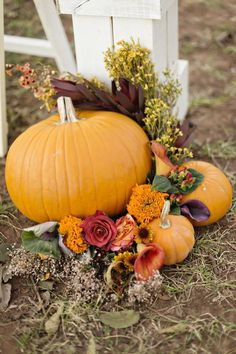 Fall weddings are some of our favorite weddings around the Rustic Wedding Chic office given how rustic the Autumn season naturally is. This wonderful rustic fall wedding combines the best of a barn wedding with rustic colors and a great rustic wedding venue. From the photographer: I couldn't say more amazing things about this wedding day. It definitely didn't go perfectly, but it was the perfect day; a sentiment that I try to get across to my brides before their big day very often. There…