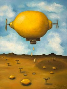 Lemon Drops - Art By Leah Saulnier