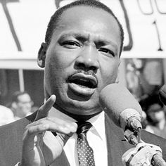 Mr. Martin Luther KING Jr.  I will never forget that day, even at the age of 5.........................the good die young........................