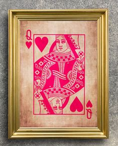 Playing Card Print pink Queen Print Queen of Hearts Print | Etsy Mad Hatter Costumes, Mad Hatter Hats, Tutu Costumes, Mad Hatters, Crazy Hat Day, Crazy Hats, Vintage Playing Cards, Vintage Cards, Cheshire Cat Alice In Wonderland