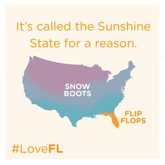 It's called the Sunshine State for a reason. #LoveFL
