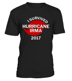 Residents in cities affected by Hurricane Irma in the State of Florida we are with you as you rebuild and get back to your feet. Floridans are tough, brave, and resilient. Hurricane Irma Victim Support T-Shirt