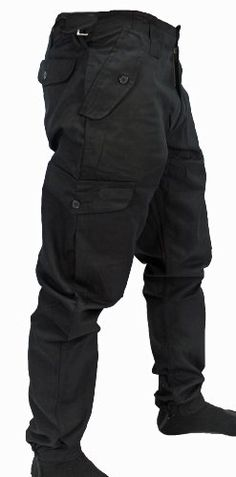 "WWK Mens Army Combat Work Trousers Pants Combats Cargo - Black - 36"" WWK / WorkWear King http://www.amazon.co.uk/dp/B007PR8RKG/ref=cm_sw_r_pi_dp_TADMtb06MBZEDVS5"