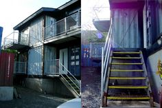 Keith Dewey used shipping containers to create a 2,000 square-foot home in Victoria, British Columbia. Using the recycled container building blocks, which only cost Dewey a few thousand dollars each, he was able to build his Zigloo, a three-bed/two-bath home with an open floor plan, five balconies and a full basement.