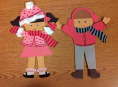 paper doll pattern ***. Use with felt