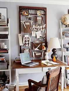 One of the best parts about having a home office is the ability to get creative with your space.