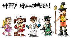 Happy Halloween! www.findthecutes.com #Halloween #HappyHalloween #Halloweencartoon #HalloweenCostumes