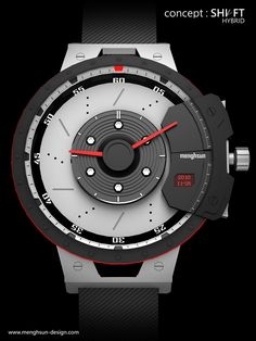 menghsun design: Shift Hybrid (Watch)
