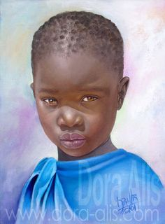 Colección 2010 - COLECCIÓN RETRATOS DE LA INOCENCIA: NIÑOS DE AFRICA
