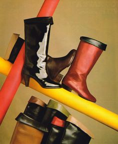 Pertti Palmroth, American Vogue, July 1982. Sock Shoes, Shoe Boots, Shoes Sandals, Heels, 80s Fashion, Fashion Beauty, Mademoiselle Magazine, Calvin Klein Sport, Black Wardrobe
