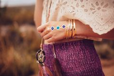 Schmuck Trend des Sommers: Flash Tattoos im Boho Look