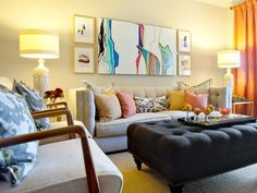 | Living Room and Dining Room Decorating Ideas and Design | HGTV