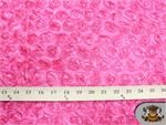"Taffeta Small PINK Rosette Fabric / 58-60"" Wide / Sold by the yard"