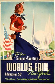 1939 travel poster