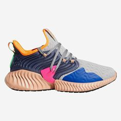 didas is getting rather colorful with the Alphabounce Instinct Clima. For a  preview of two a03b154e886