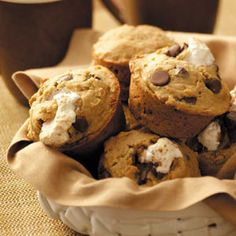 S'more Muffins Recipe from Taste of Home
