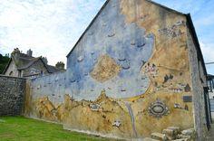 ancient town map (St. Michael's Mount)