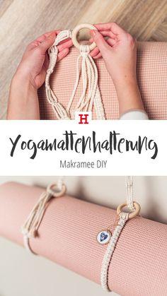 Do It Yourself Schmuck, Knitting Projects, Crochet Projects, Yoga Strap, Macrame Bag, Yoga Bag, Macrame Design, Boho Diy, Yoga Fashion