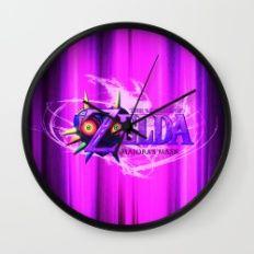 Majora Mask Wall Clock