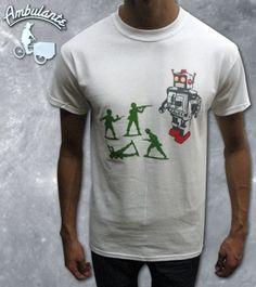 ROBOT PLAYERA AMBULANTE  Quien no tuvo de estos soldaditos?  www.ambulantemx.com