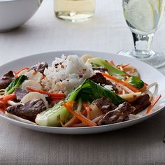 This quick and easy beef stir-fry with bok choy is the perfect dish for an Asian meal.