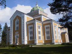 Kerimäen kirkko, in Kerimäki, Finland, the biggest wooden Church in the world