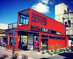 Re:START Mall Christchurch: The Re:START shipping container shopping centre currently features 27 exciting retailers including two cafés and a variety of boutiques found only at Re:START Mall.