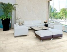 Forum Silver Porcelain Tile - 12in. x 24in. | Floor and Decor