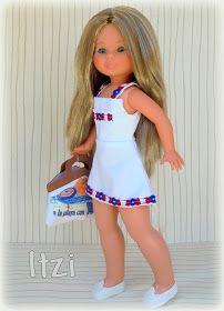 """Bueno...   La última de """"Creaciones Marco""""   Son 3 vestidines muy sencillos y muy bonitos, Veraniegos a tope y como siempre muy bien con... Summer Dresses, Dolls, Clothes, Fashion, High Fashion, Vestidos, Doll, Nancy Doll, Crochet Doll Clothes"""