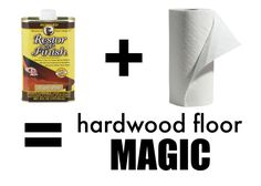 fix scratched hardwood floors in about five minutes | hardwood