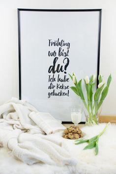 DIY Frühling wo bist du? Ich habe dir Kekse gebacken! – free printable https://barfussimnovember.wordpress.com
