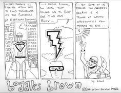 Boggles Brown - SuperHero