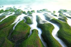 不思議な海岸「老梅石槽」/台湾