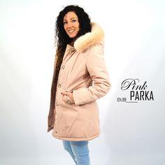 Pink Parka roze winterjas