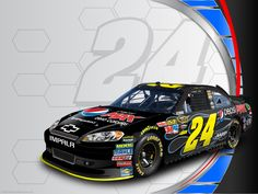 Jeff Gordon's No. 24 PepsiMAX Chevrolet desktop wallpaper